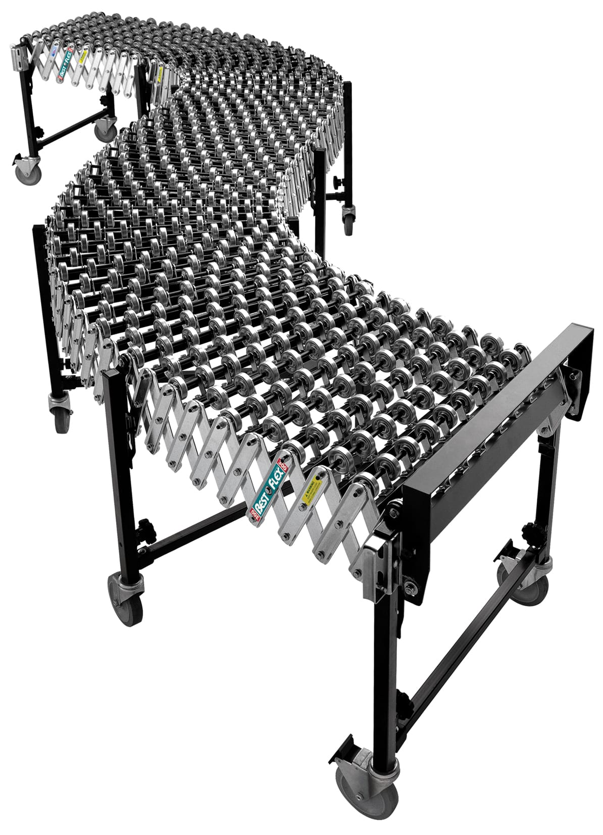 accordion roller conveyor