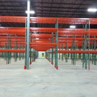 PALLET RACK TUNNEL AISLES