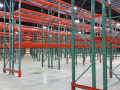 TEARDROP PALLET RACK INSTALL BACK TO BACK ROWS ANGLE VIEW.jpg