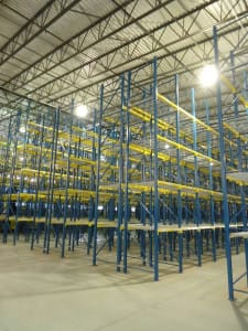 pallet racking installation photo